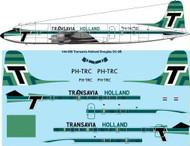 144-590 Transavia Holland Douglas DC-6B laser decal