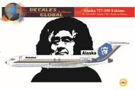 1/144 Scale Decal Alaska 727-100 Eskimo