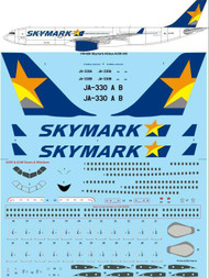 1/144 Scale Decal Skymark Airlines Airbus A330-343