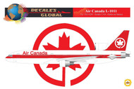 1/144 Scale Decal Air Canada L-1011