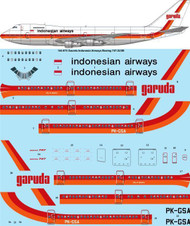 1/144 Scale Decal Garuda Indonesian Airlines Boeing 747-2U3B