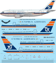 1/144 Scale Decal Cyprus Airways Airbus A310-200