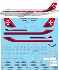 """1/144 Scale Decal Air Malta """"Retro"""" Airbus A320-214"""