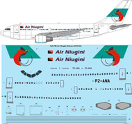 1/144 Scale Decal Air Niugini Airbus A310-324