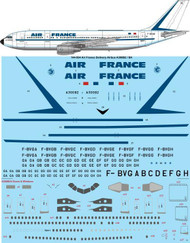 1/144 Scale Decal Air France Airbus A300B2 / B4