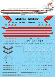 1/144 Scale Decal Martinair McDonnell Douglas MD-11