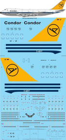 1/144 Scale Decal Condor Boeing 747-230