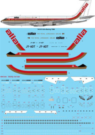 1/144 Scale Decal Alia Boeing 720B
