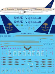 1/144 Scale Decal Saudia Boeing 787-9