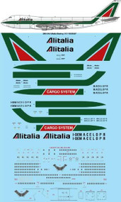 1/200 Scale Decal Alitalia Boeing 747-143/243/243F
