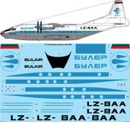 1/72 Scale Decal Bulair Antonov AN-12B