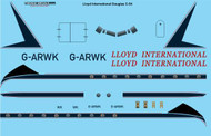 1/72 Scale Decal Lloyd International Douglas C-54G ( DC-4 )