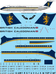 1/72 Scale Decal British Caledonian early BAC 1-11-500
