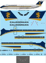 1/72 Scale Decal Caledonian Airways BAC 1-11-509EW