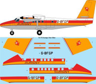 1/72 Scale Decal Aurigny Twin Otter