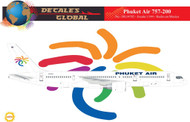 1/144 Scale Decal Phuket 757-200