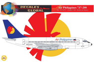1/144 Scale Decal Air Philippines 737-200