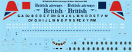 1/144 Scale Decal British Airways Vickers Viscount 800
