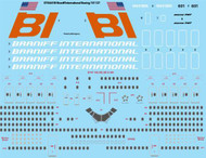 1/144 Scale Decal Braniff International Boeing 747-127