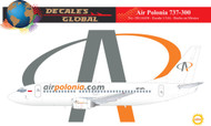 1/144 Scale Decal Air Polonia 737-300