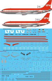 1/144 Scale Decal LTU L-1011 TriStar & TriStar 500