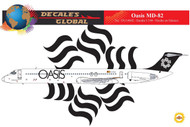 1/144 Scale Decal Oasis MD-82