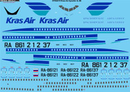 1/144 Scale Decal Kras Air Ilyushin IL-86