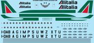 1/144 Scale Decal Alitalia Caravelle VIN