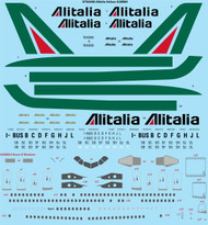 1/144 Scale Decal Alitalia Airbus A300B4