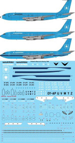 1/144 Scale Decal Maersk Air Boeing 720B (3 versions)