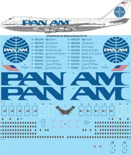 1/144 Scale Decal Pan Am Billboard Boeing 747-121