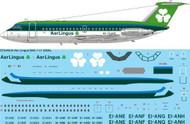 1/144 Scale Decal Aer Lingus BAC 1-11 208AL