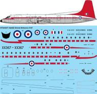 1/144 Scale Decal A&AEE Bristol Britannia 312F