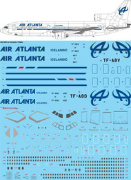 1/144 Scale Decal Air Atlanta TriStars