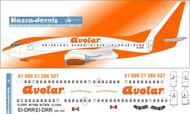 1/144 Scale Decal Avolar 737-300