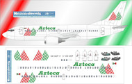 1/144 Scale Decal Azteca B737-300