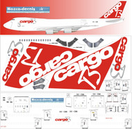 1/144 Scale Decal Cargo B B747-200F