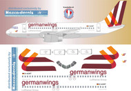 1/144 Scale Decal Germanwings A-319