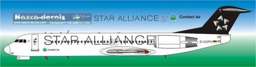 1/144 Scale Decal Contact Air F-100 Star Alliance