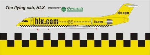 1/144 Scale Decal Germania / HLX F-100