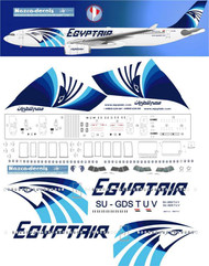 1/144 Scale Decal Egyptair  A330-300