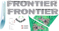 1/144 Scale Decal Frontier A-318 Rabbit