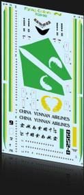 1/200 Scale Decal China Yunnan 767-300