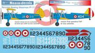 1/48 Scale Decal FAP Fuerza Aérea del Perú Boeing Stearman