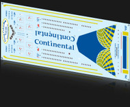 1/200 Scale Decal Continental 777