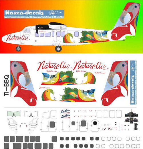 1/144 Scale Decal Nature Air Twinotter DHC-6