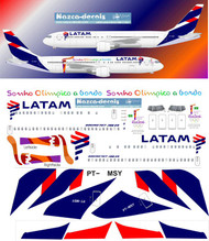 1/200 Scale Decal Latam 767-300
