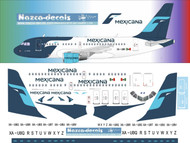 1/144 Scale Decal Mexicana A-318