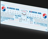 1/200 Scale Decal Korean Air 777