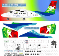 1/144 Scale Decal Air Seychelles Twin Otter